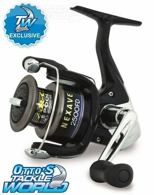 Shimano Nexave Black 2500 FD Spin Reel Tackle World Exclusive BRAND NEW    Otto s 1aa9949bad22