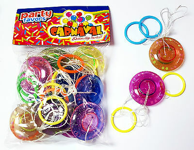 12 pcs Pull String Yoyo Pulling Whistle Pinata Filler Lucky Prize Birthday Party