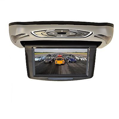 9'' In-Car Roof Mounted Flip Down DVD Player Digital TFT HDMI USB SD Multi Color
