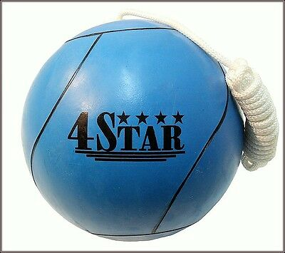 Tether Ball New Blue Color Rope Included Out Door Sports Picnic Playground