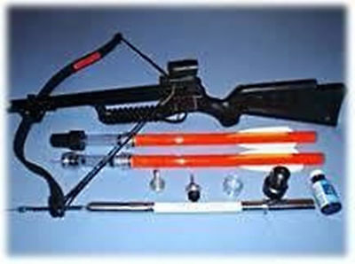 Medi-Dart Crossbow Medicate Livestock Cattle Calves Bulls 40ft Pinkeye Footrot