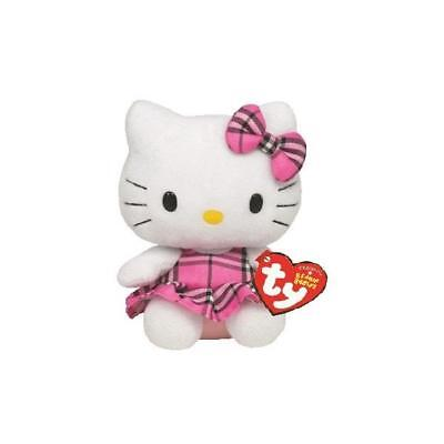 Ty Beanie Babies 40819 Hello Kitty Tartan