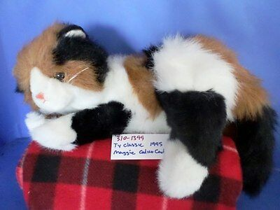 Ty Classic Maggie the Calico Cat 1995 plush(310-1399)