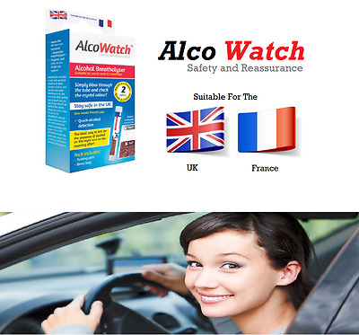 AlcoTest Personal Alcohol Breath Tester Detector Police Breathalyser Driver Test