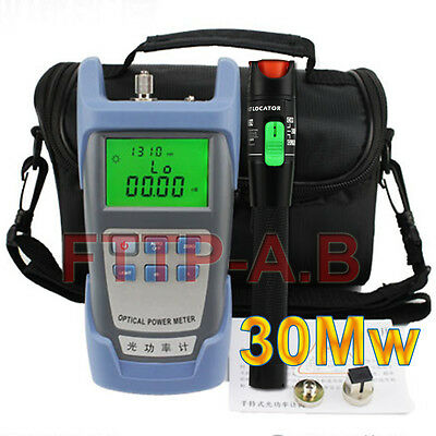 FTTH 30Mw 25-30km Visual Fault Locator Cable Tester&Fiber Optical Power Meter