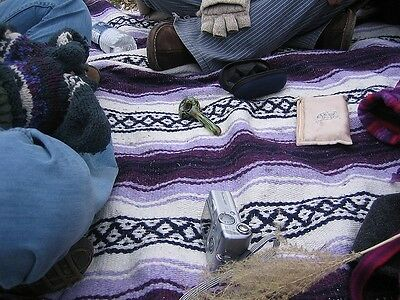 #11 Pack Of 5 Mexico Rug Falsa Blanket Mat Throw Mix Colors Wholesale Lot Resale