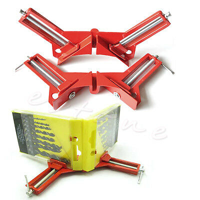 90°Degree Right Angle Picture Frame Corner Clamp Holder Woodworking Hand Kit New