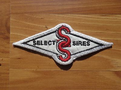 Select Sires Patch