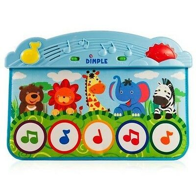 Dimple Animal Kick and Touch Musical Baby Piano Mat DC11956