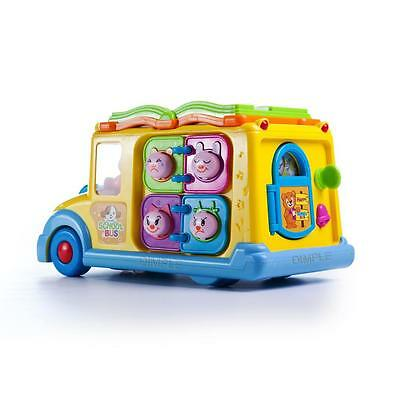 Dimple Fun Learning Activity School Bus w/ Lights & Sounds DC5008