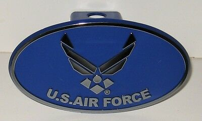 "Trailer Hitch Cover US AIR FORCE - Fits 2"" standard trailer hitch"