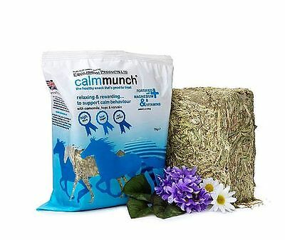 MUNCH CALMMUNCH half fibre low sugar snack horse pony treat