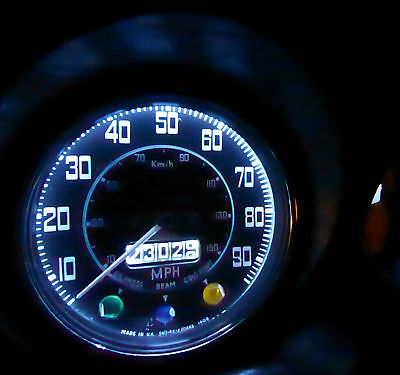 Porsche 911 Classic Dash Instrument Panel BA7s LED Bright White Light bulbs x8
