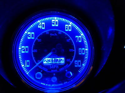 Porsche 911 Classic Dash Dashboard Instrument Panel BA7s LED Blue Light bulbs x8
