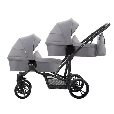 3 in 1 kombi kinderwagen f r zwillinge 2x autokindersitze duo scen komfort 1db eur 464 99. Black Bedroom Furniture Sets. Home Design Ideas