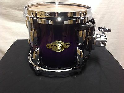 "Pearl Masters MCX 8"" Mounted Tom/Purple Sparkle Burst/Finish #369/Maple Shell"