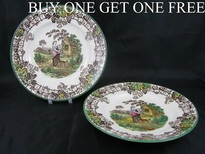"Vintage Copeland Spode Spode's Byron 8"" Tea Plate BUY ONE GET ONE FREE     S1070"