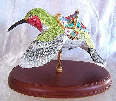 LENOX Hummingbird The Carousel Porcelain Figure Limited Ed. New in Box