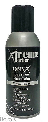 New Black Ice Chromatone Hair Color Spray Black 4 Oz 14 99