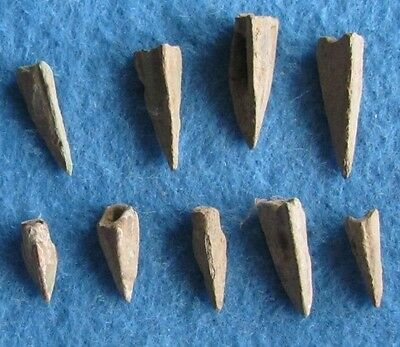Fantastic RARE Lot of ( 9) Bronze arrows 3rd to 1st Cent. B.C.