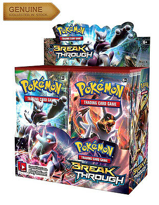 1 x 10-Card Booster Pack XY BREAKThrough Pokemon | Sealed Break Through