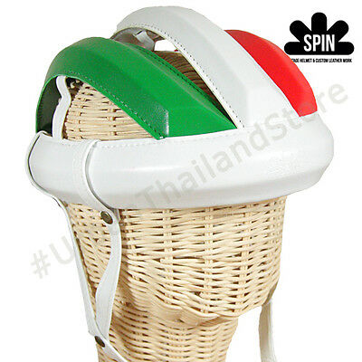 Spin Vintage Cycling Helmet L'eroica Bicycle Italy Outdoor Retro 1980 Classic