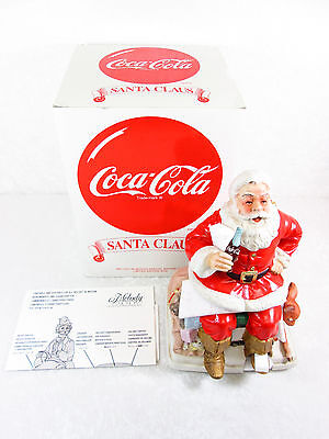 Melody in Motion Coca-Cola Santa Claus 1993 Limited Edition # 1584 / 6000