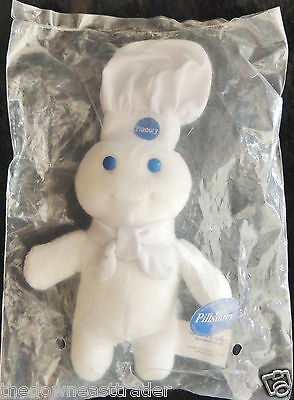 "6"" Pillsbury Doughboy Mini Bean Bag Doll Toy Advertising Memorabilia c1999 New"