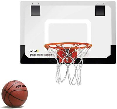 Indoor Mini Basketball Hoop Door Mount NBA Backboard Ball Kids Small Office Port