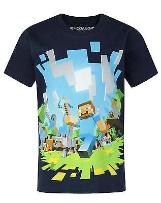 Official Minecraft Adventure Boy's T-Shirt