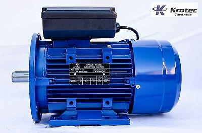 Electric motor single-phase 240v 1.5kw 2hp 1410rpm B35 Flange