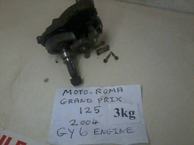Moto Roma Gearbox Grand Prix 125 Road Runner 125 Gy6 Engine