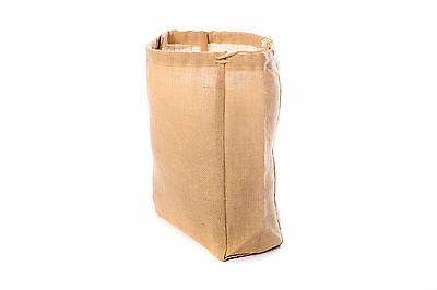 Large Jute Hessian Drawstring Sack - Ideal for Christmas!