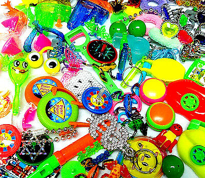 100 PC MIX-B different Birthday party toy kids LOOT BAG PINATA FILLERS Favor