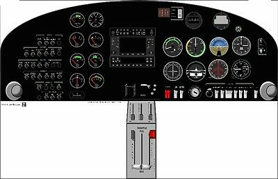 DA20 Cockpit Poster (US Air Force Version)