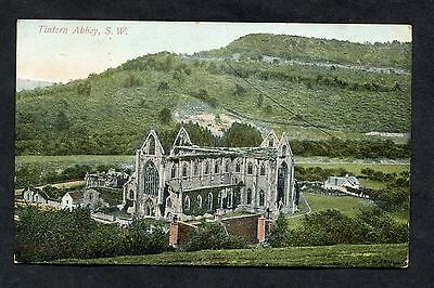 C1910 View of Tintern Abbey, Wales.