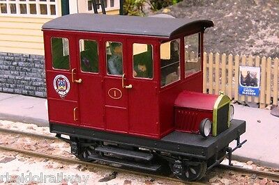 Tralee Dingle Railcar Kit IP Engineering 45mm Garden Railway SM32 16mm Scale