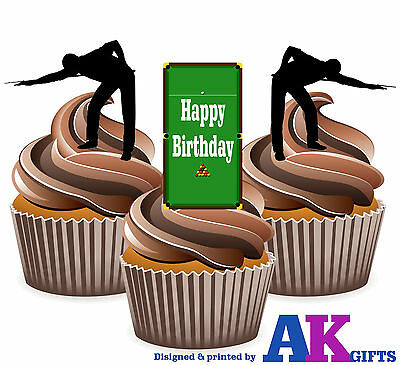 Baking Accs. & Cake Decorating 25th Birthday Rugby Themed Precut Edible Cup Cake Toppers Decorations Mens Son Sale Overall Discount 50-70%