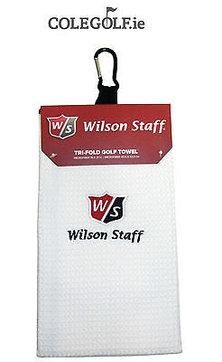 Wilson Staff Trifold Towel - White