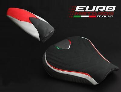 MV Agusta F3 675 800 Luimoto Team Italia Suede Seat Covers Set Front & Rear New