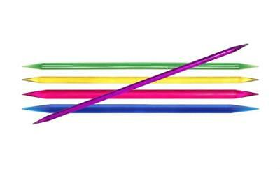 """KnitPro Double Pointed Needles TRENDZ 20cm/8"""" 4mm (US 6) to 12mm (US 17)"""