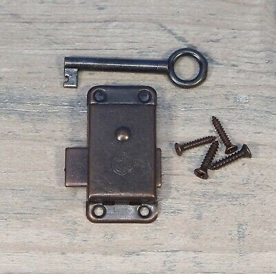 Grandfather Clock Door Lock & Key Set NEW Bronze Ridgeway Howard Miller Sligh