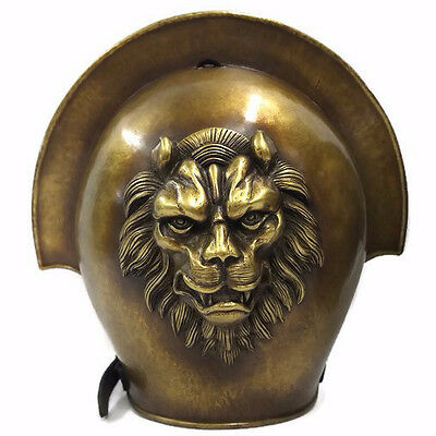 Larp Armour Classical Greek,Roman, Spartan Lion Shoulder armor, pauldrons