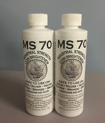 Ms 70 Industrial Strength Cleaner 8 0Z 2 Pack!!!!