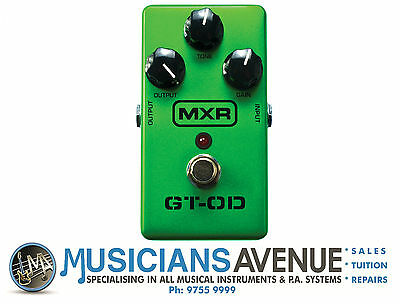 Mxr M193 Gt-Od Overdrive Effects Pedal - Brand New!!!