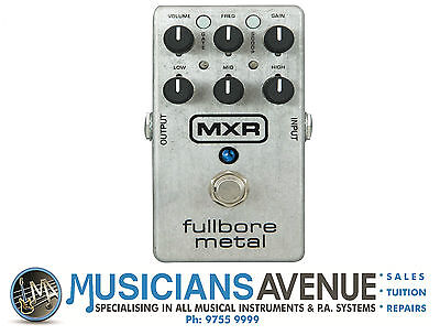 Mxr M116 Fullbore Metal Distortion Effects Pedal