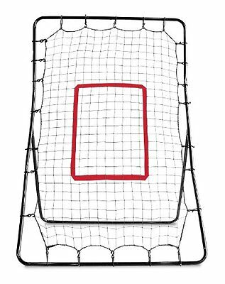 Pitch Back Rebound Net Baseball Throwing Pitching Return Bounce Training