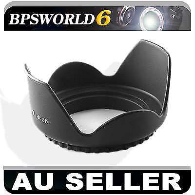 AU local 58mm flower hood camera LENS FOR canon sony 18-55mm 55-250mm