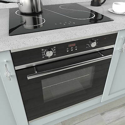 MyAppliances REF50453 60cm Electric Multifunction Oven & 60cm Ceramic Hob Pack