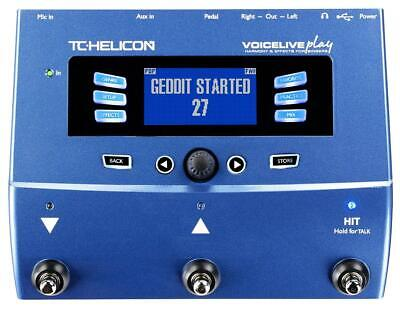 TC Helicon VoiceLive Play Vocal Effects Pedal